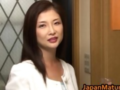 chisa kirishima older oriental lady shows part10