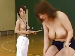 japanese doll is a sporty beauty who enjoys
