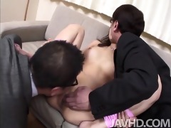 slutty businessmen have mafuyu hanasaki tied in