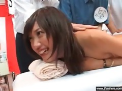 cute hawt oriental cutie flash her body and fuck