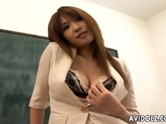 sexy breasty ai kurosawa obscene teacher with