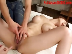 playing with hot asian bawdy cleft uncensored