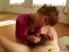 cute japanese legal age teenager gives a flawless