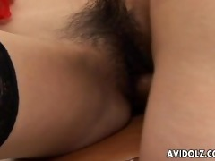 japanese chick ai kurosawa drilled in her