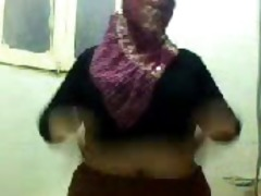 bbw corpulent arabian on livecam