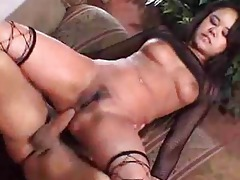 fishnet stocking weariing oriental whore acquires