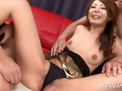 unshaved asian hotty fisted unfathomable in her