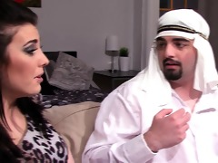 arab headmistress cuckolds arab spouse serf