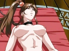 hot oriental anime toons feature hawt breasty