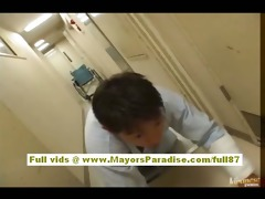 japanese super hot nurse in act