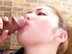 busty oriental playgirl team-fucked