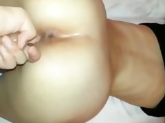 oozing juicy oriental cookie fingered and screwed