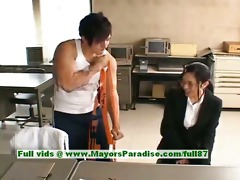 sora aoi virginal nasty oriental secretary enjoys
