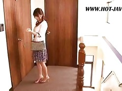 oriental wife copulates the repair guy