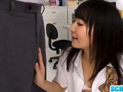 teen pecker sucker ayumi kurebayashi swallows
