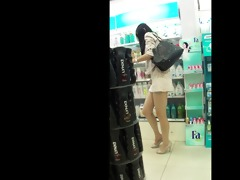 marvelous chinese gal in public