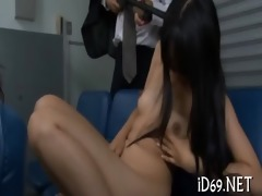 babes perform deep face hole
