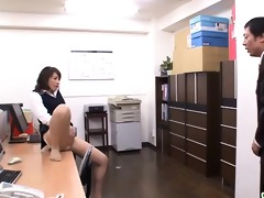 raw office sex with a naughty older