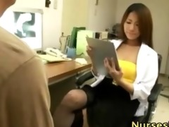 lascivious japanese sweetheart acquires medical