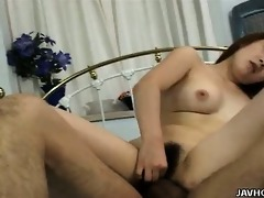 hardcore three-way act with manami sekino