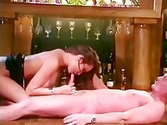 kira kener has sex on the bar