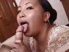 naughty older oriental acquires cumfaced after