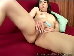 beautiful oriental chick gives unfathomable blow