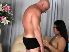 asian lady-man lisa lengthy drilled in her booty