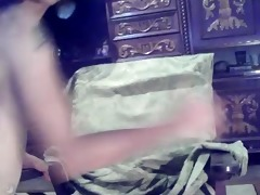 arab webcam: teasing &; snatch play