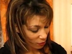 french arab beurette dany in dark nylons