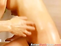 japanese cutie oily sex