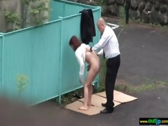 outdoor perverted japanese cutie acquire screwed