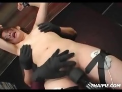 oriental daughter dominated by a mommy