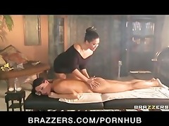 large tit milf massage turns into taut 30 lesbo