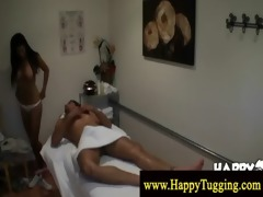 naught masseuse wishes to fuck her client