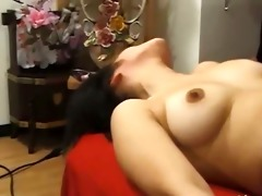 highly hirsute japanese cutie anal group-sex