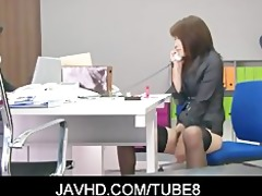 hot japanese hotty hojo maki toying her vagina
