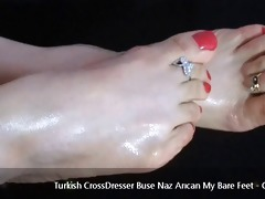 turkish crossdresser buse naz arican - my naked