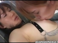 cute oriental honey tormented by her smokin hot