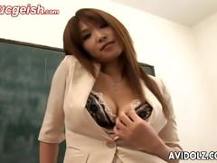 sexy big-titted ai kurosawa depraved pedagogue
