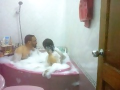 desi bhabhi taking baths with husbands elder