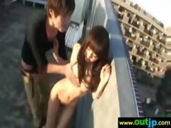 asian japanese acquire screwed outdoor video-84