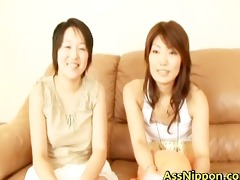 gripping real oriental dykes testing part4