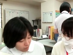 delightful oriental nurse getting perverted part8