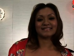 fresh-faced filipino fuckdoll leilani is filled