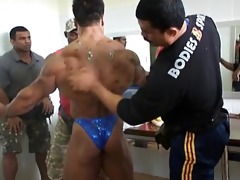 oriental musclebull backstage: oriental world
