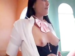 amwf lalin girl bella blue interracial with