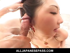 hatsumi kudo is one talented dick sucker