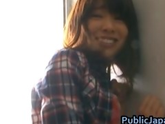 haruka itoh oriental babe has sex in public part5