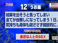 subtitled japan news tv show horoscope surprise